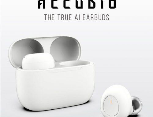 60개 언어를 실시간 통역! 오르페오 사운드웍스, AI 이어버드 '아큐디오(Accudio)' 공개